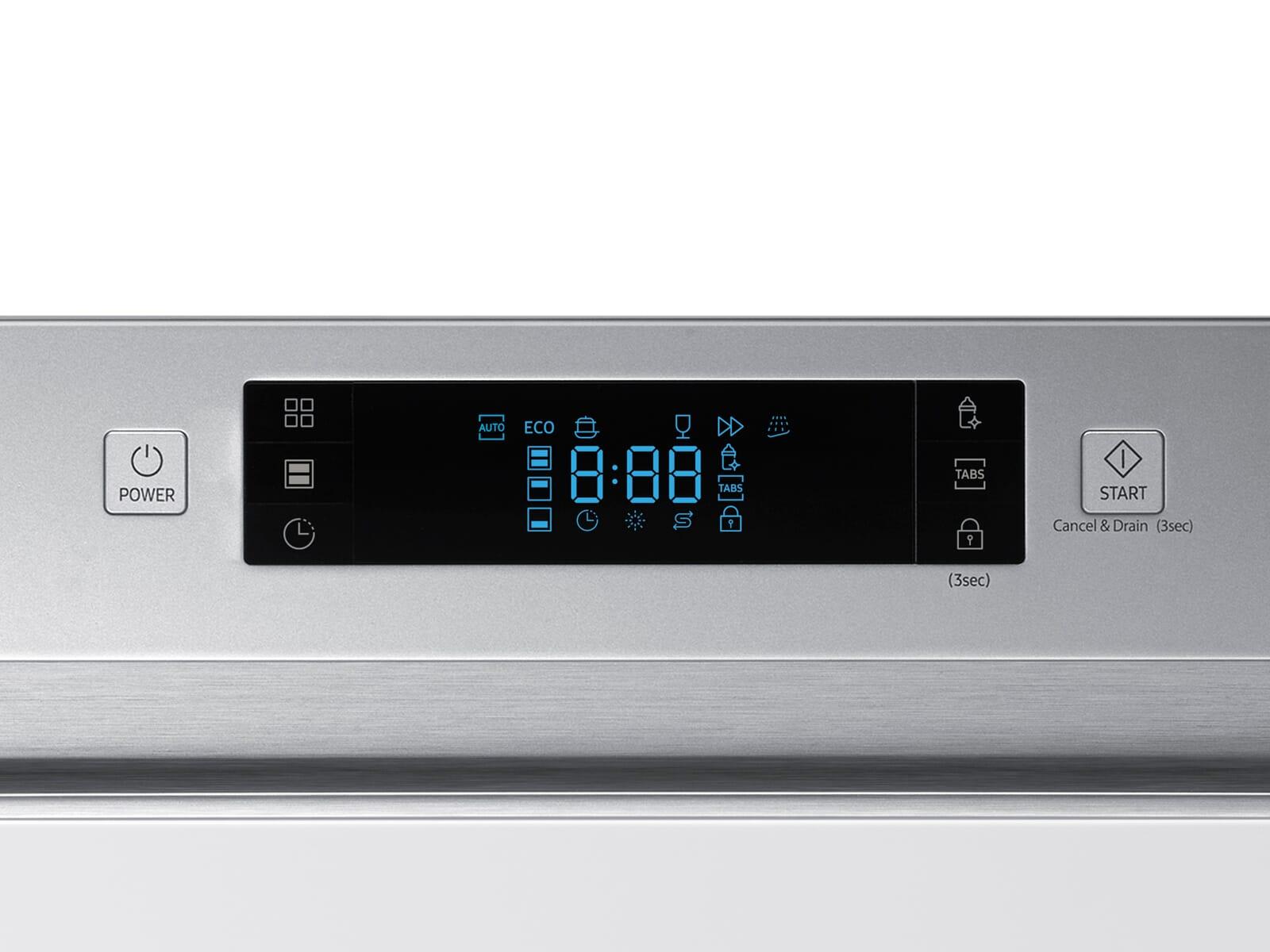 Samsung DW6KM6041SS/EG Teilintegrierbarer Einbaugeschirrspüler