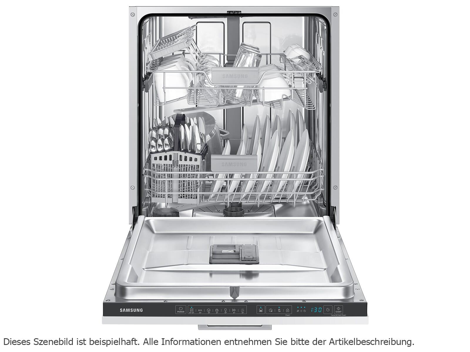 Samsung DW6KR7041BB/EG Vollintegrierbarer Einbaugeschirrspüler