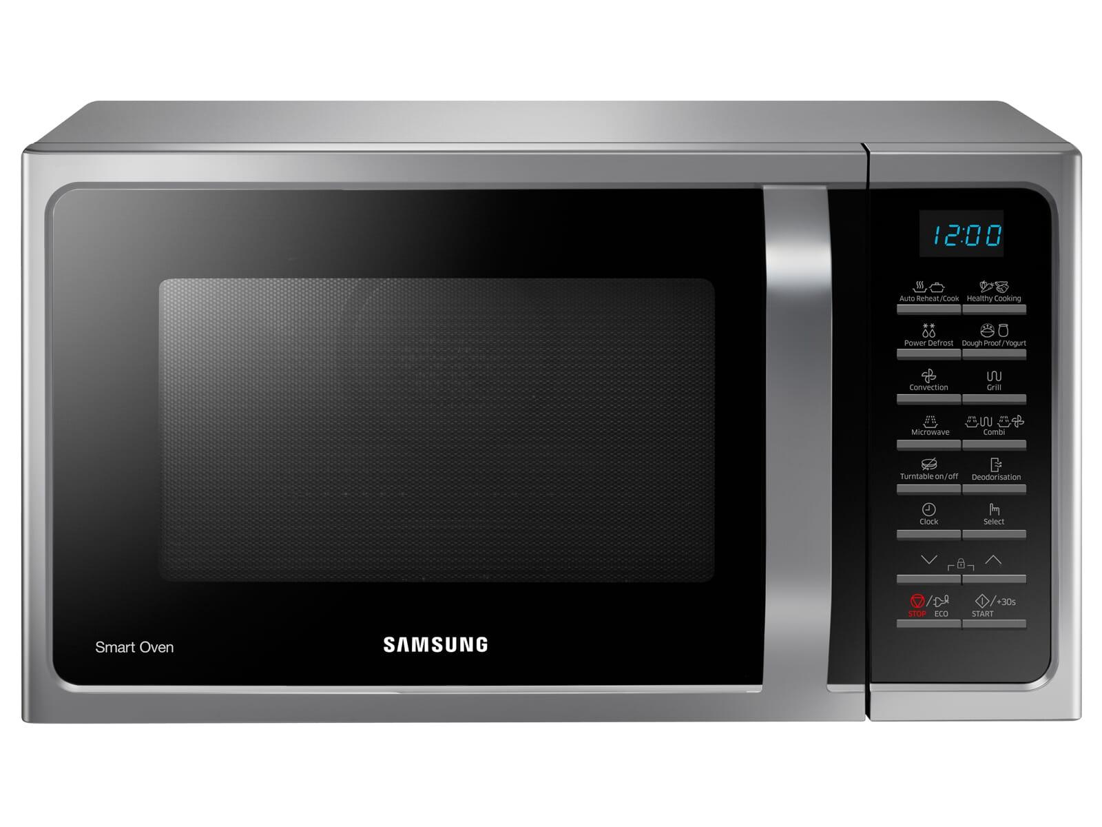 Samsung MC28H5015CS/EG Stand-Mikrowelle Silber/Schwarz
