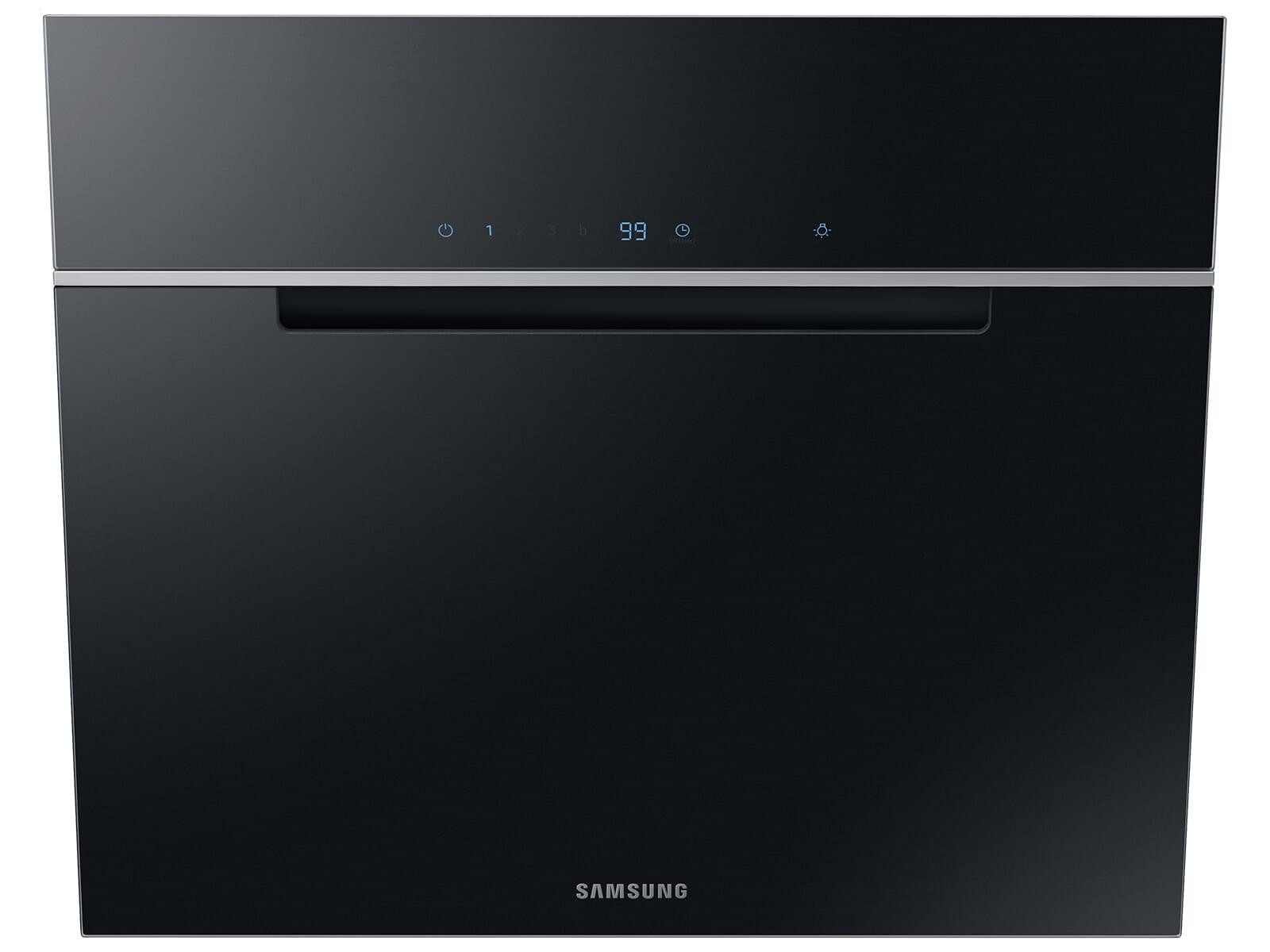 Samsung NK24M7070VB/UR Kopffreihaube 60 cm Glas-Schwarz