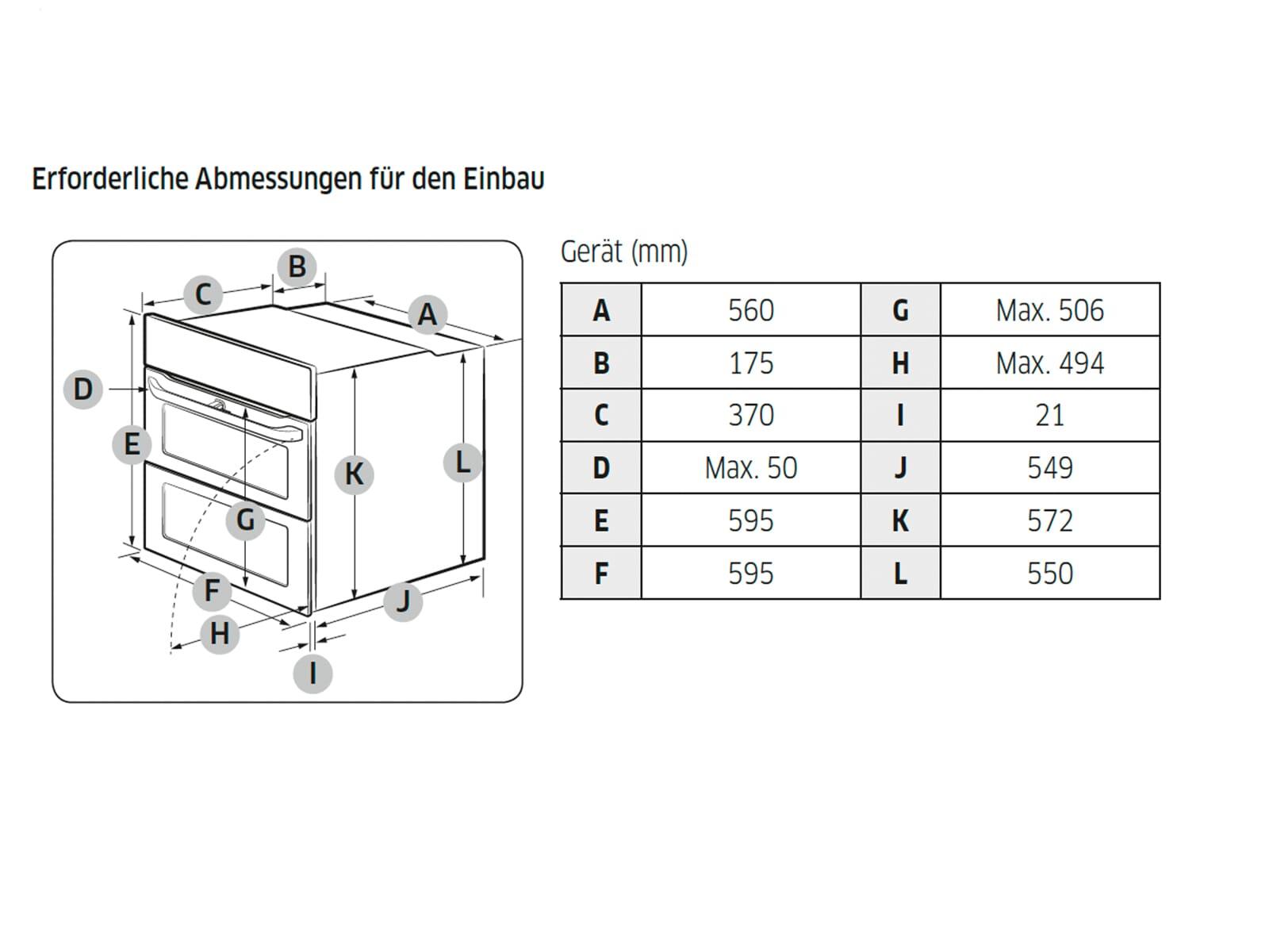 Samsung NV75N5641RS/EG Backofen Edelstahl