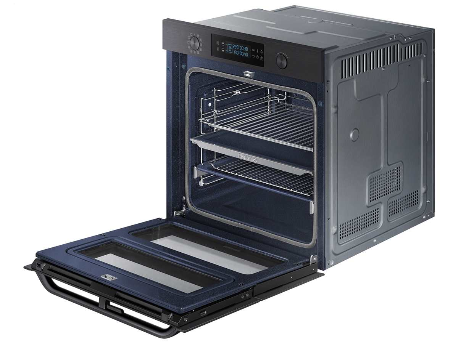 Samsung NV75N5671RM/EG Pyrolyse Backofen Black Steel