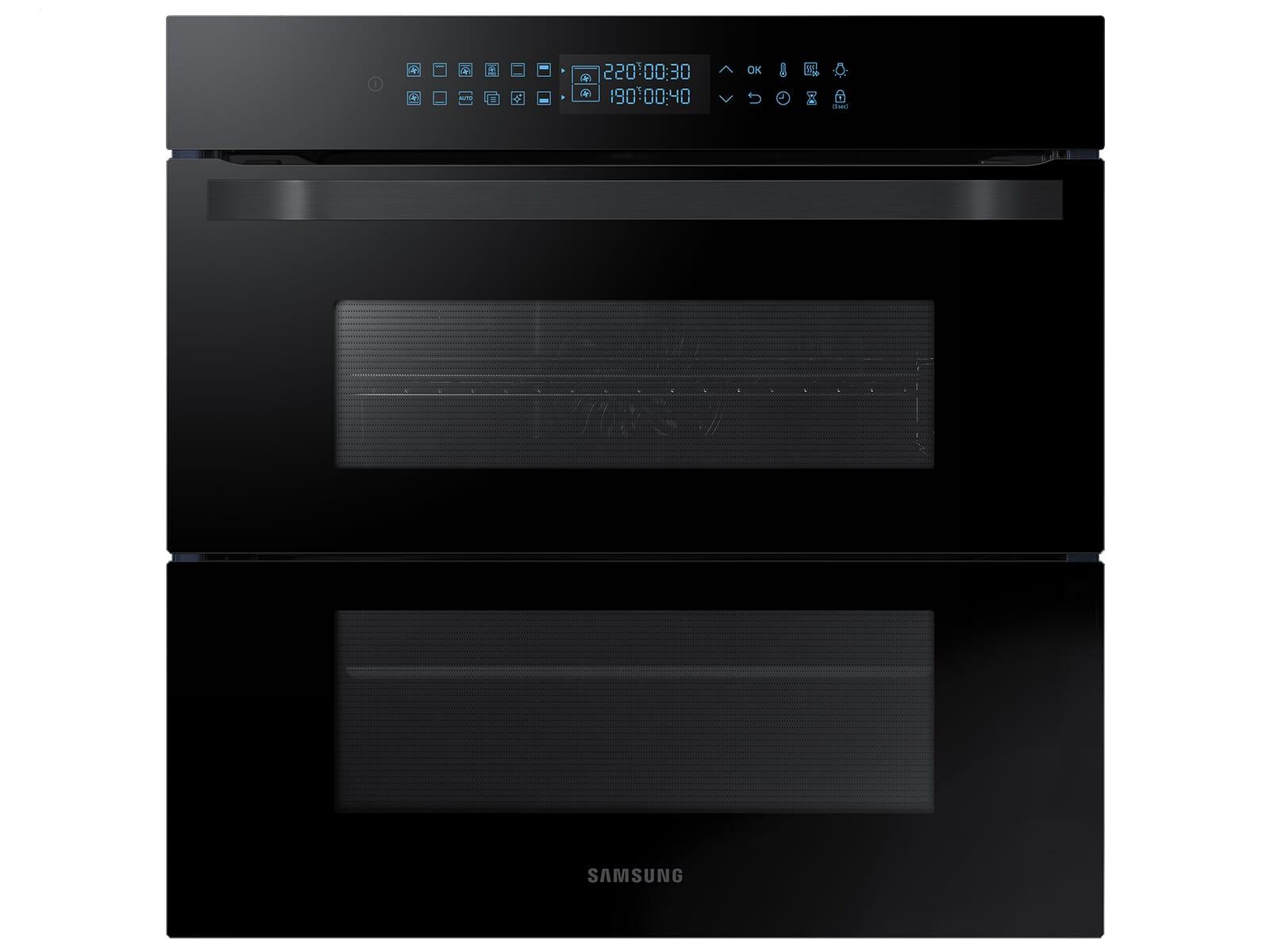 Samsung NV75R7676RB/EG Pyrolyse Backofen Schwarz