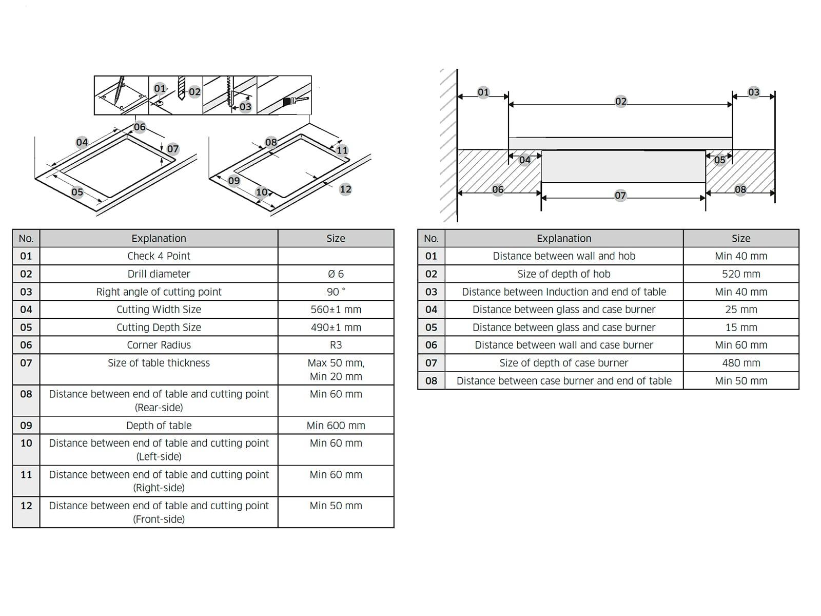 Samsung NZ64T9777TK/EG Induktionskochfeld autark