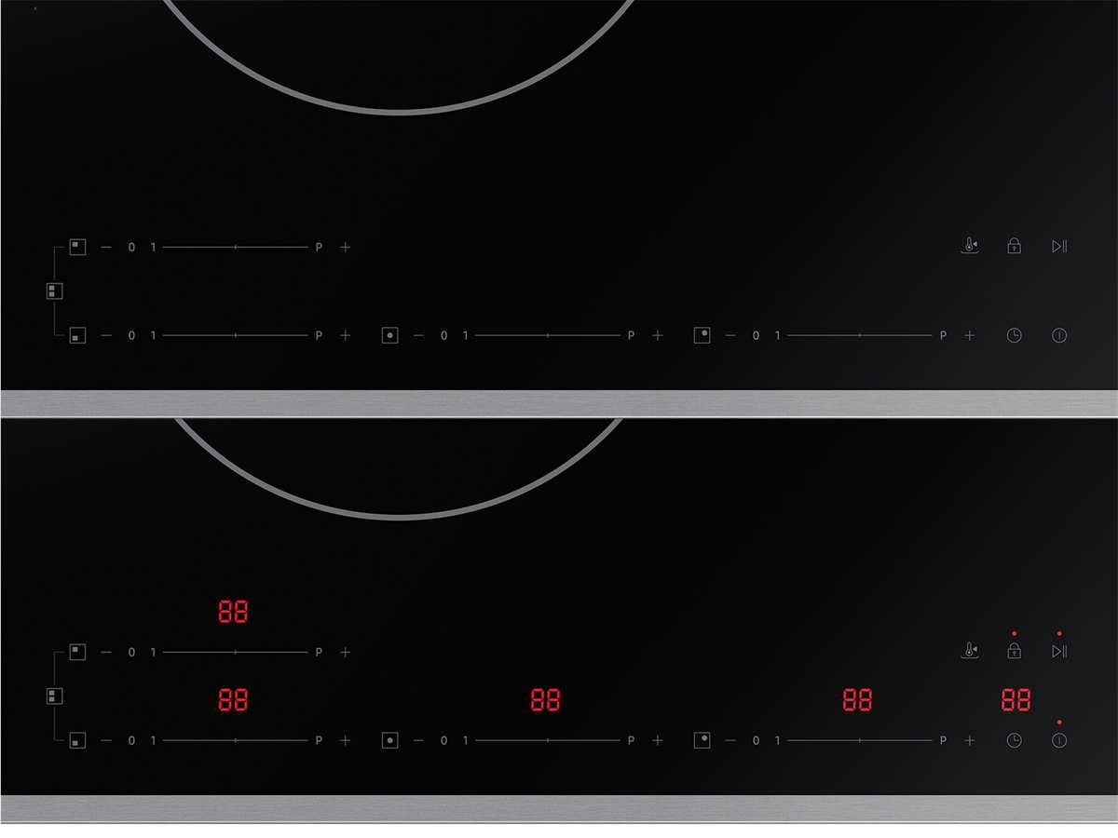 Samsung NZ84T7NC6RK/EG Induktionskochfeld autark