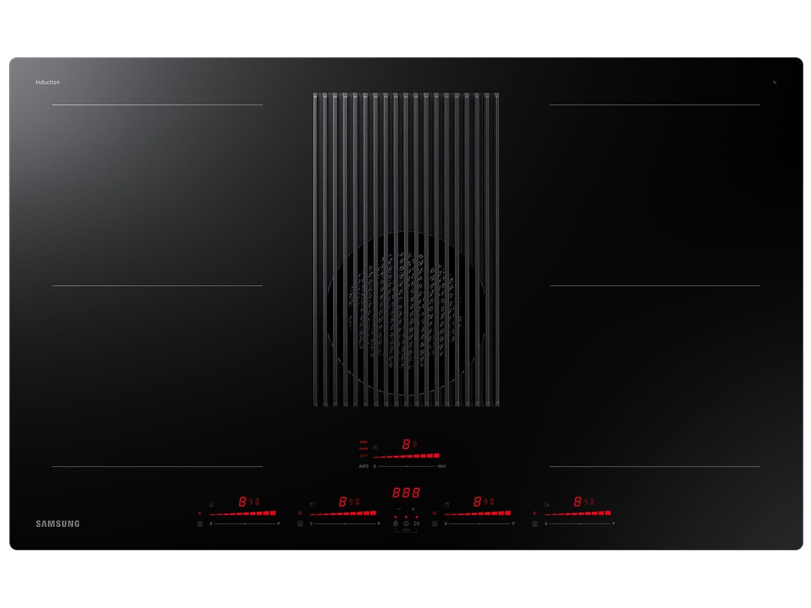 Samsung NZ84T9747VK/UR Induktionskochfeld-Dunstabzug-Kombination