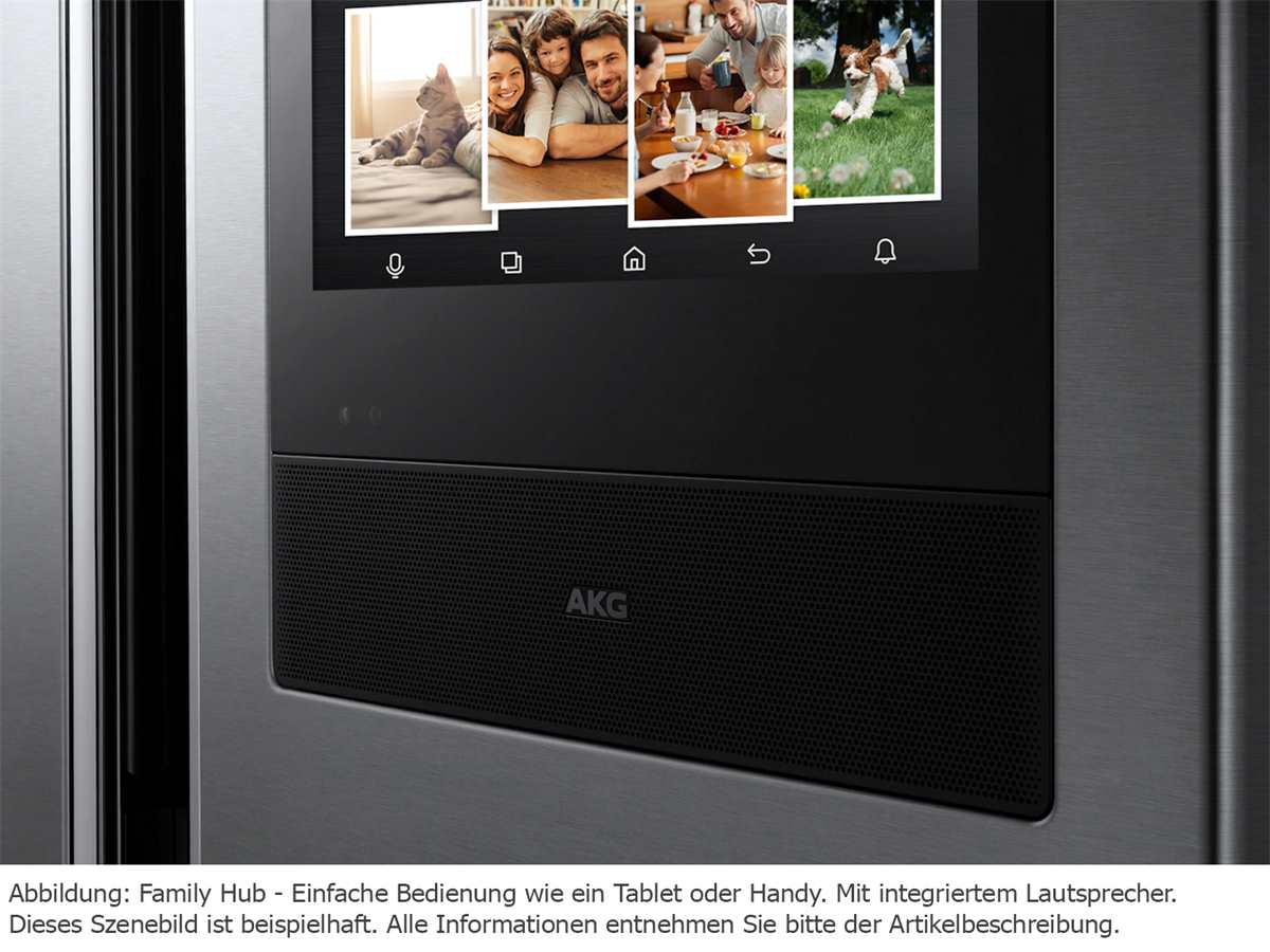 Samsung Family Hub RF56N9740SR/EF French Door Kühl-Gefrier-Kombination Edelstahl