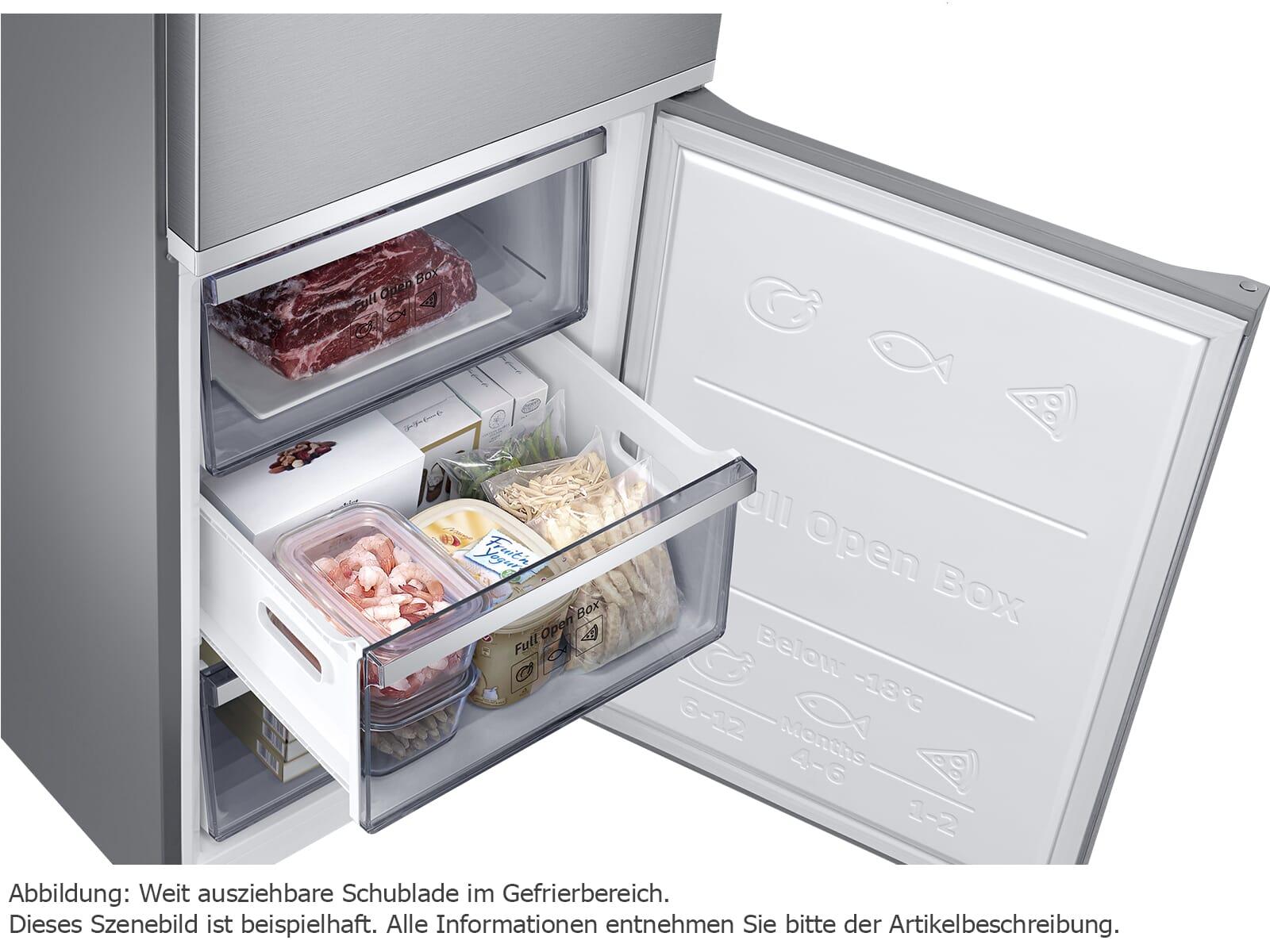 Samsung RL41R7799SR/EG Kühl-Gefrier-Kombination Edelstahl