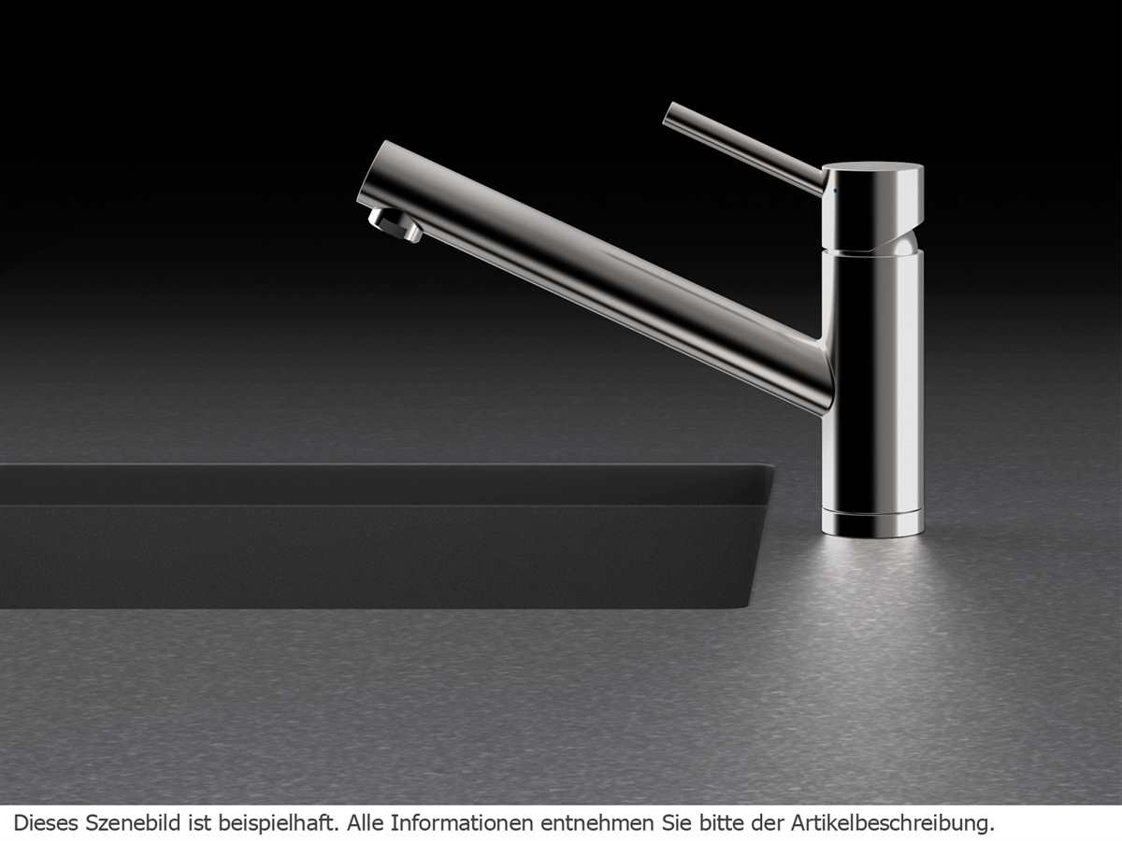 Schock Altos S Edelstahl massiv 530000EDM  Hochdruckarmatur