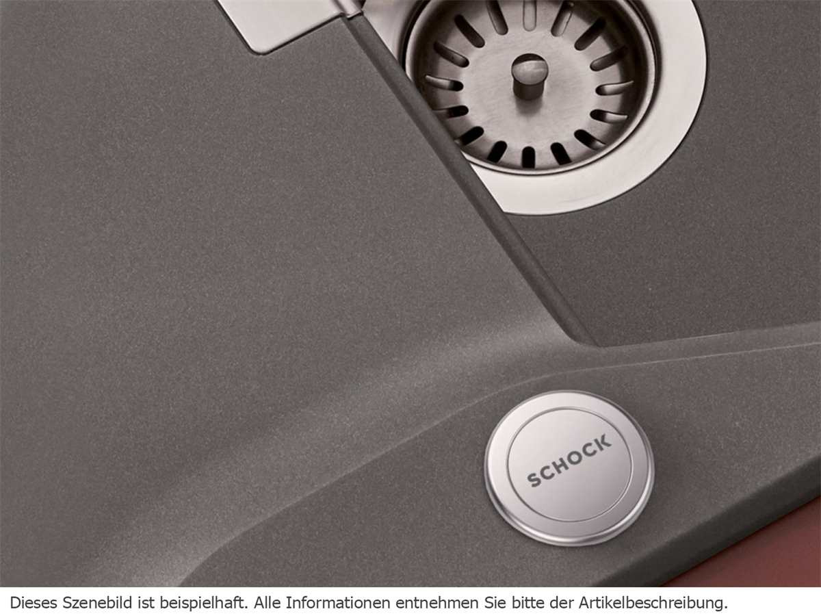 Schock 629891EDM - Comfopush Edelstahl massiv