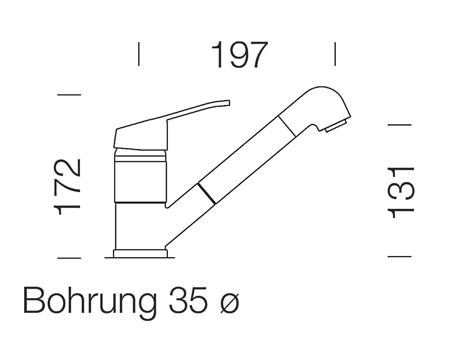 Schock Cosmo Chrom 525121CHR Hochdruckarmatur