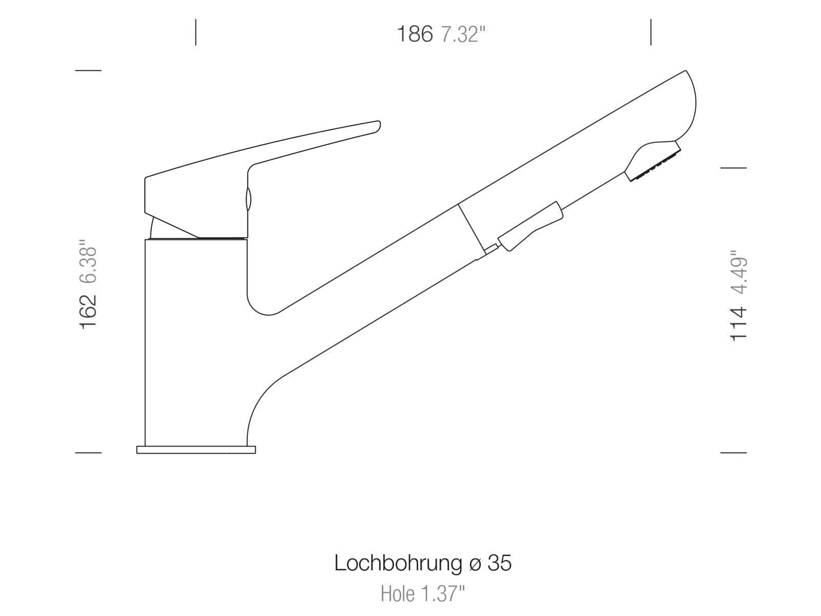 Schock Daja Chrom - 522120CHR Hochdruckarmatur