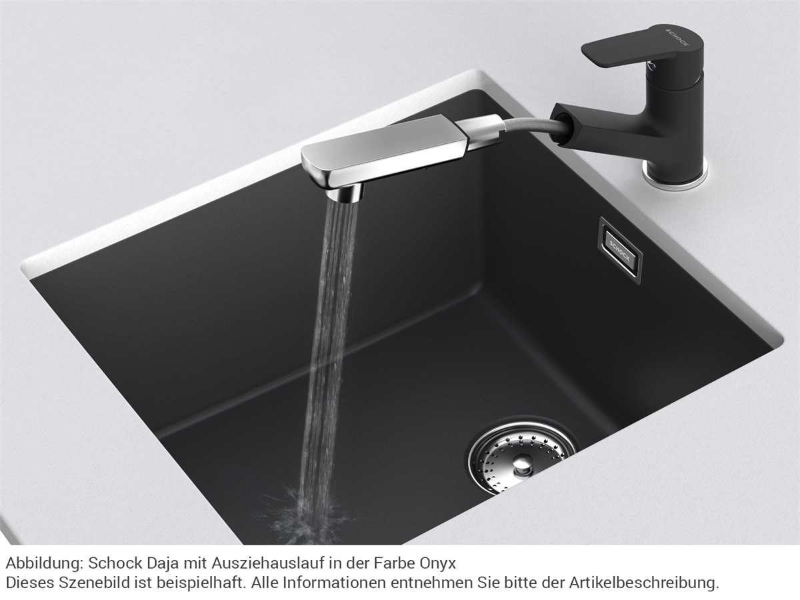 Schock Daja Asphalt - 522120GAS Hochdruckarmatur