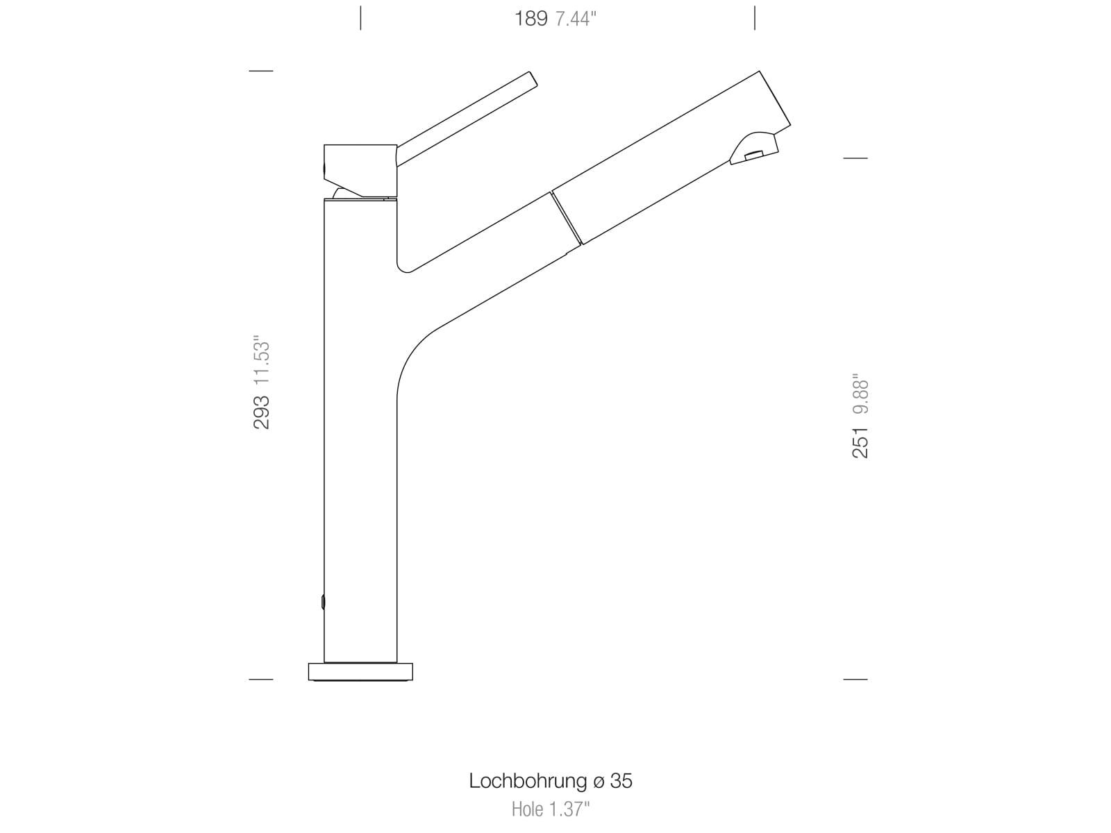 Schock Dion Puro - 510120PUR Hochdruckarmatur