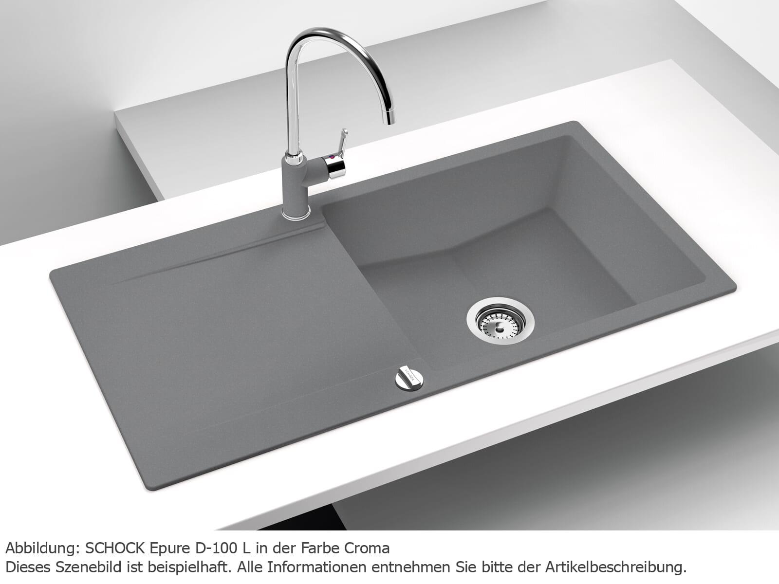 Schock Epure D-100 L A Roca - EPUD100LARCA Granitspüle