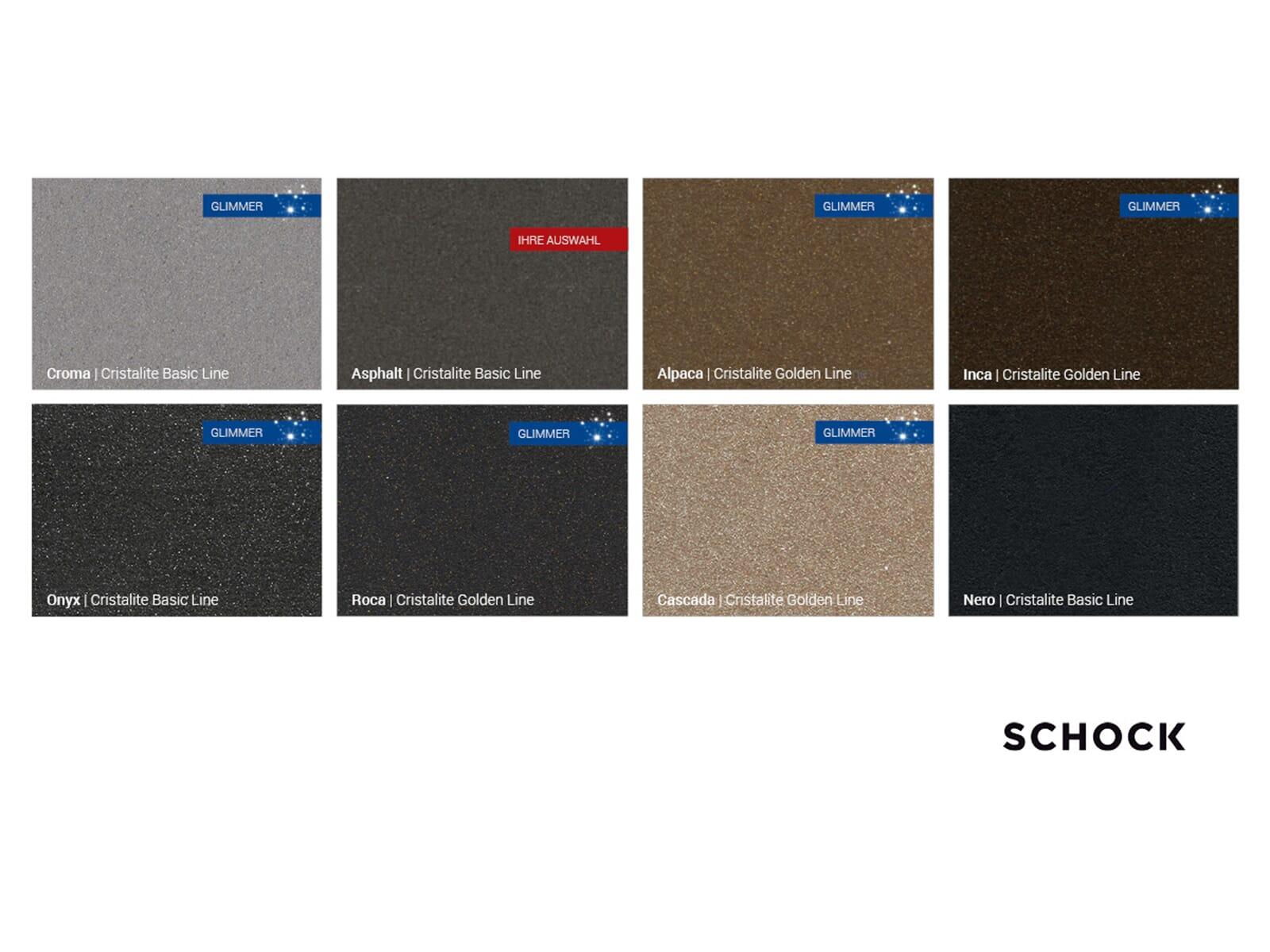 Schock Primus C-150 A Asphalt - PRIC150AGAS Granitspüle