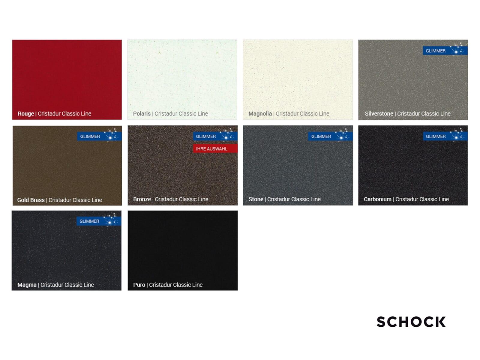 Schock SC-200 Bronze - 592121BRO Hochdruckarmatur