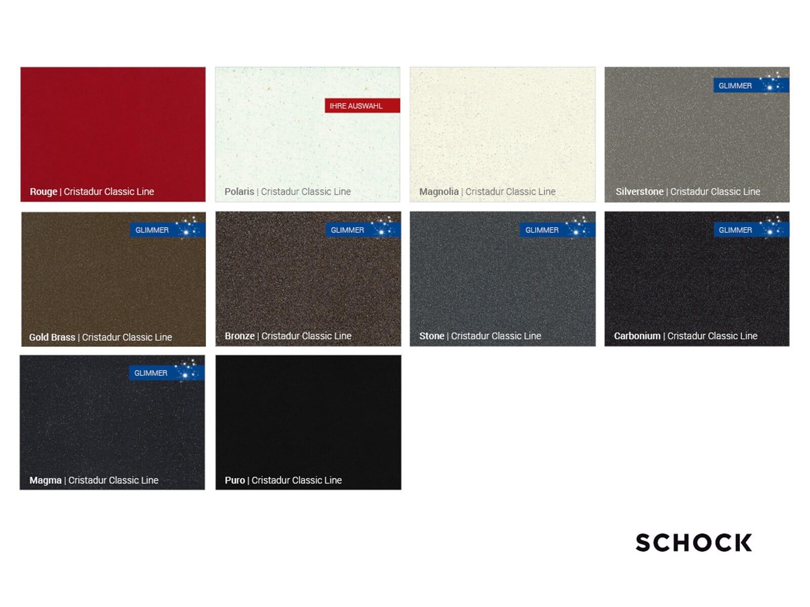 Schock SC-200 Polaris - 592001POL Hochdruckarmatur