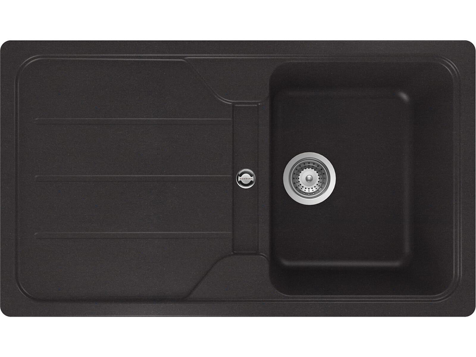 Schock Formhaus D-100 Nero - FOMD100AGNE Granitspüle