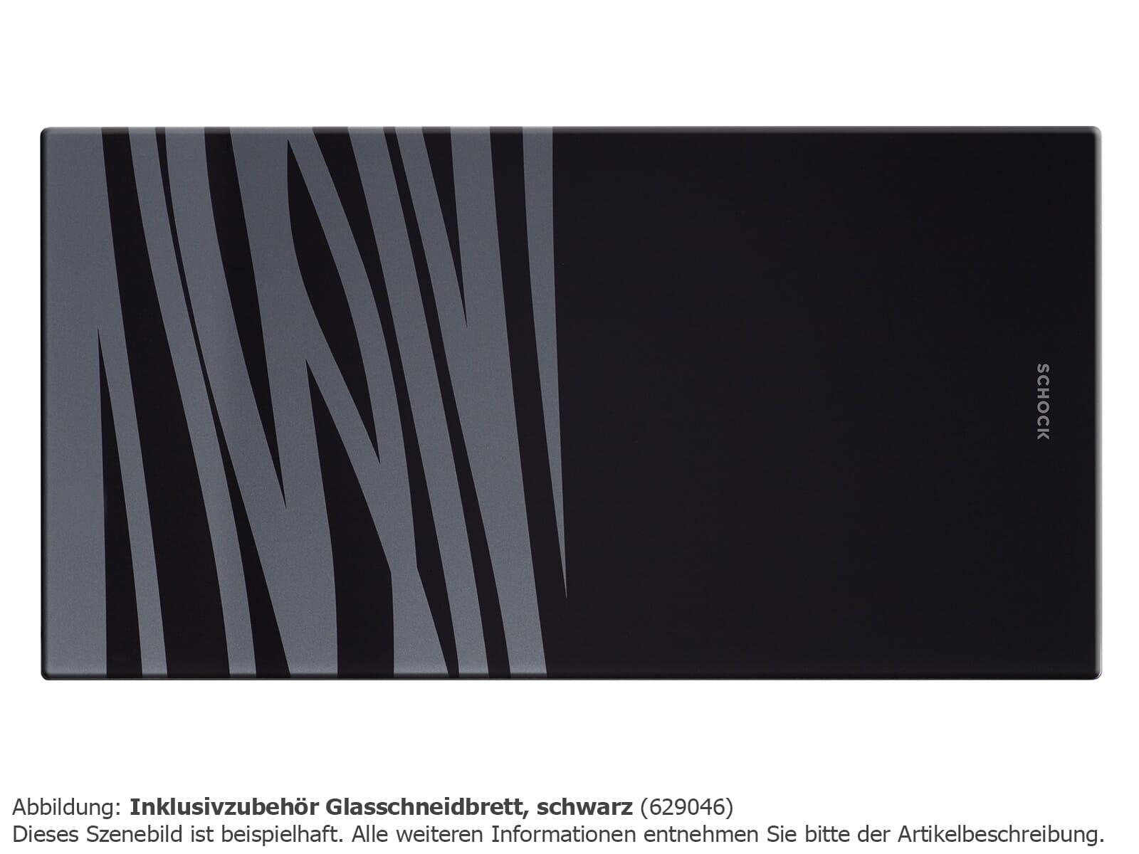 Schock 629046 Glasschneidebrett schwarz