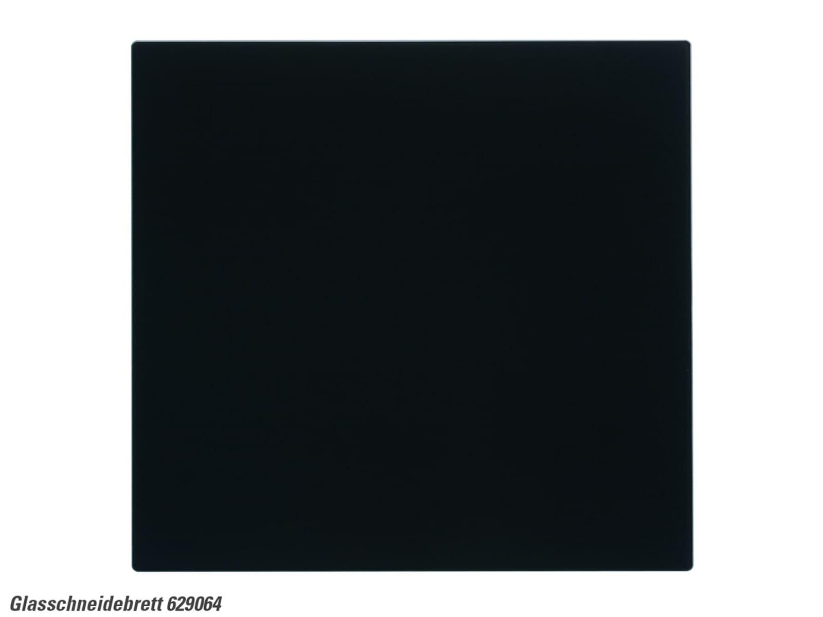 Schock 629064 Glasschneidebrett schwarz