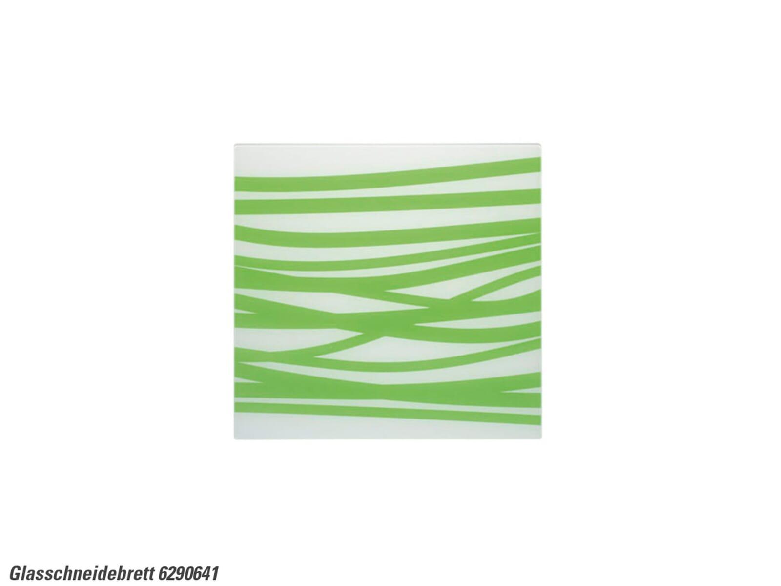 Schock 629064/1 Glasschneidebrett weiß-grün