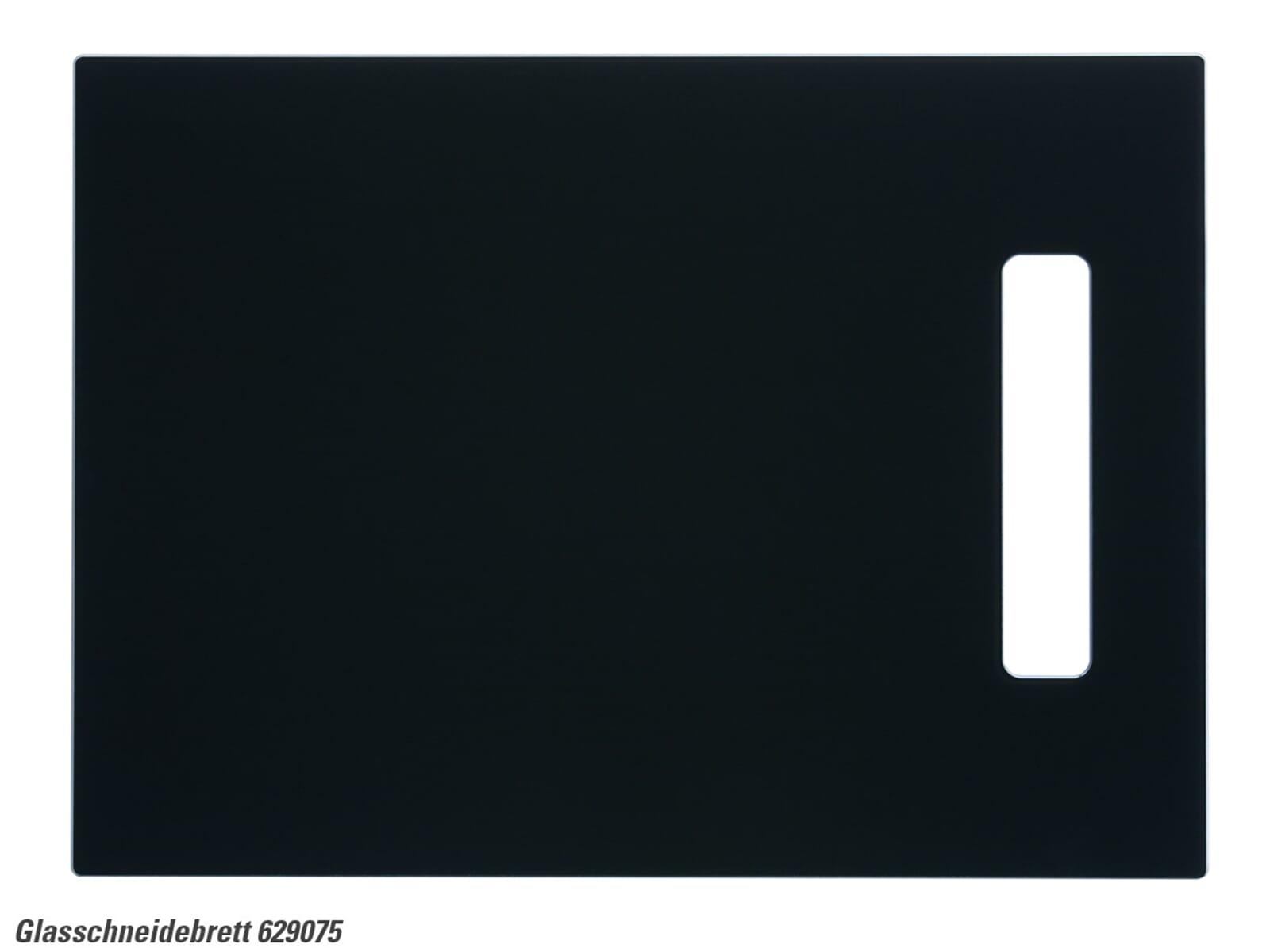 Schock 629075 Glasschneidebrett schwarz