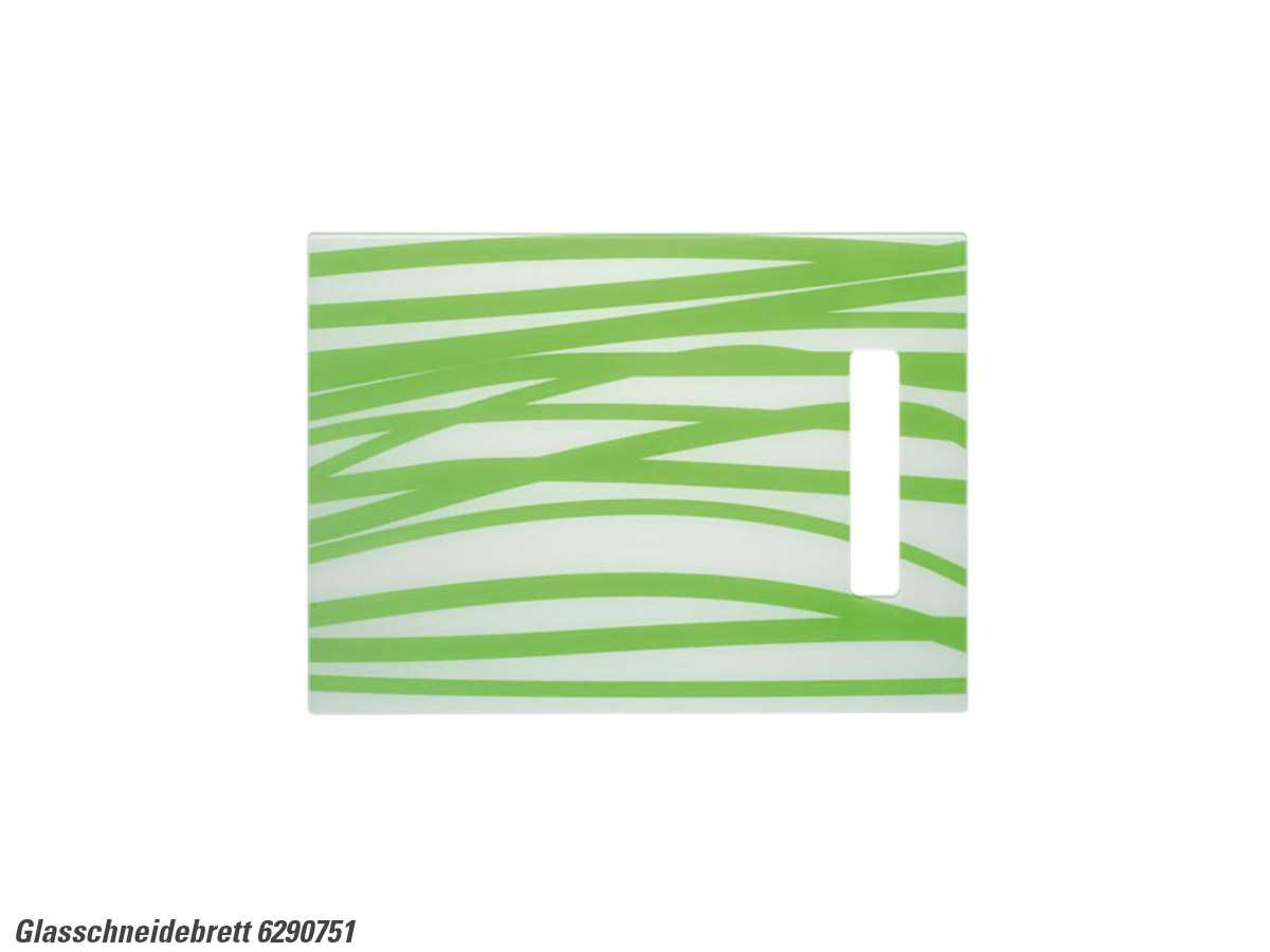 Schock 629075/1 Glasschneidebrett weiß-grün