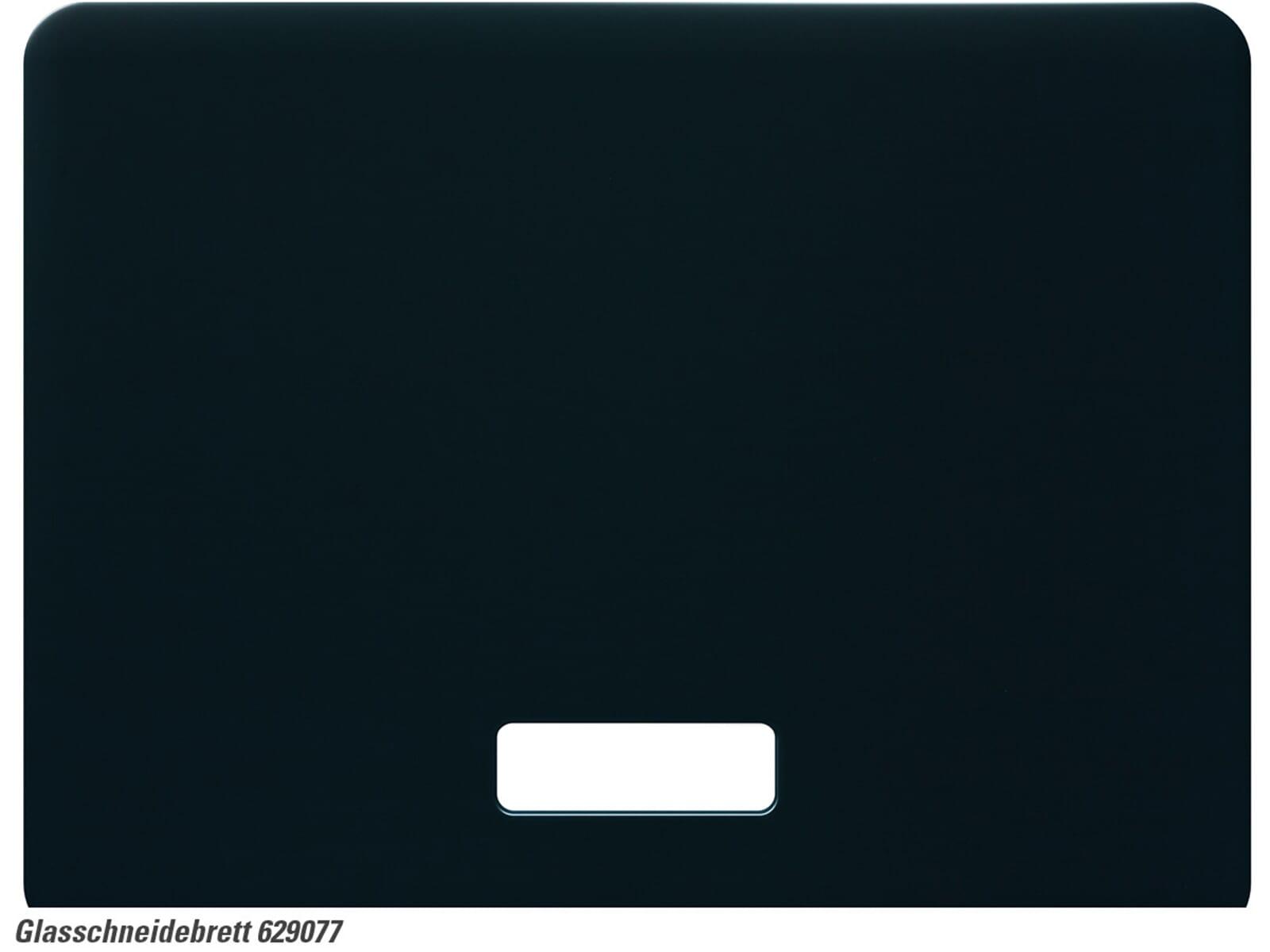 Schock 629077 Glasschneidebrett schwarz