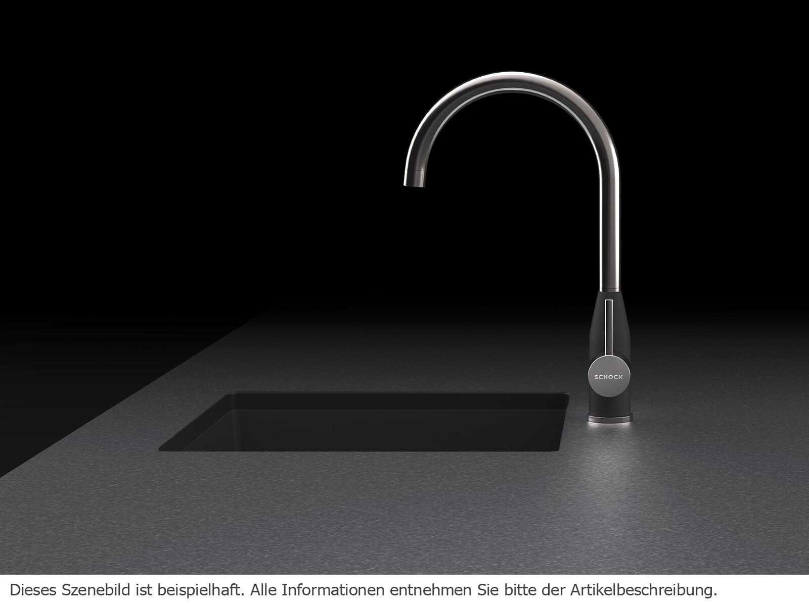 Schock Kavus Edelstahl massiv - 559000EDM Hochdruckarmatur