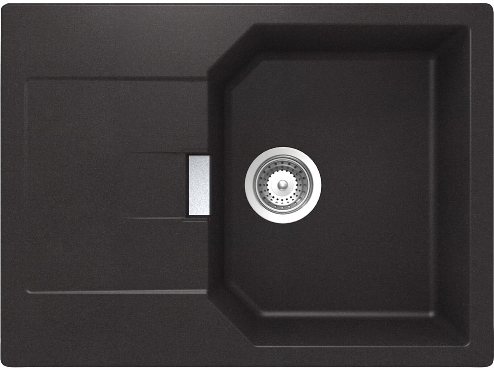 Schock Manhattan D-100 S A Nero Granit-Spüle