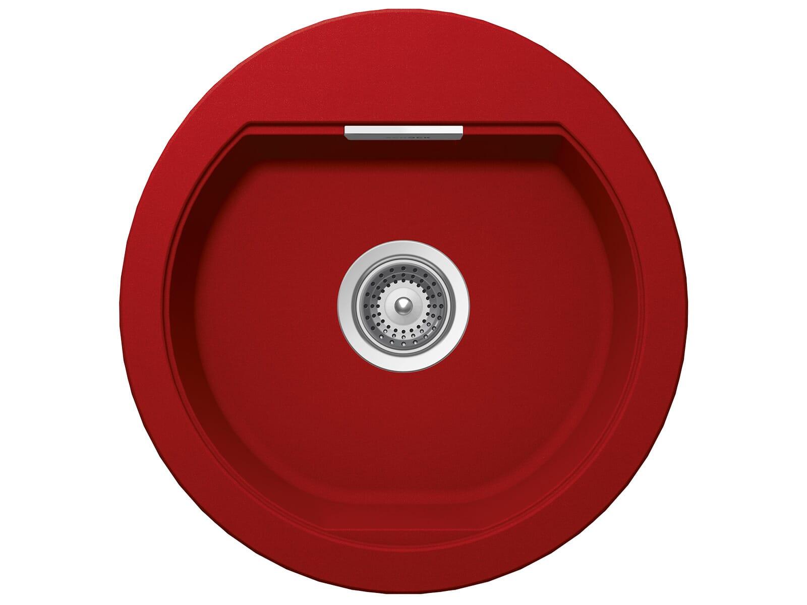 Schock Mono R-100 A Rouge - MONR100AROU Granitspüle