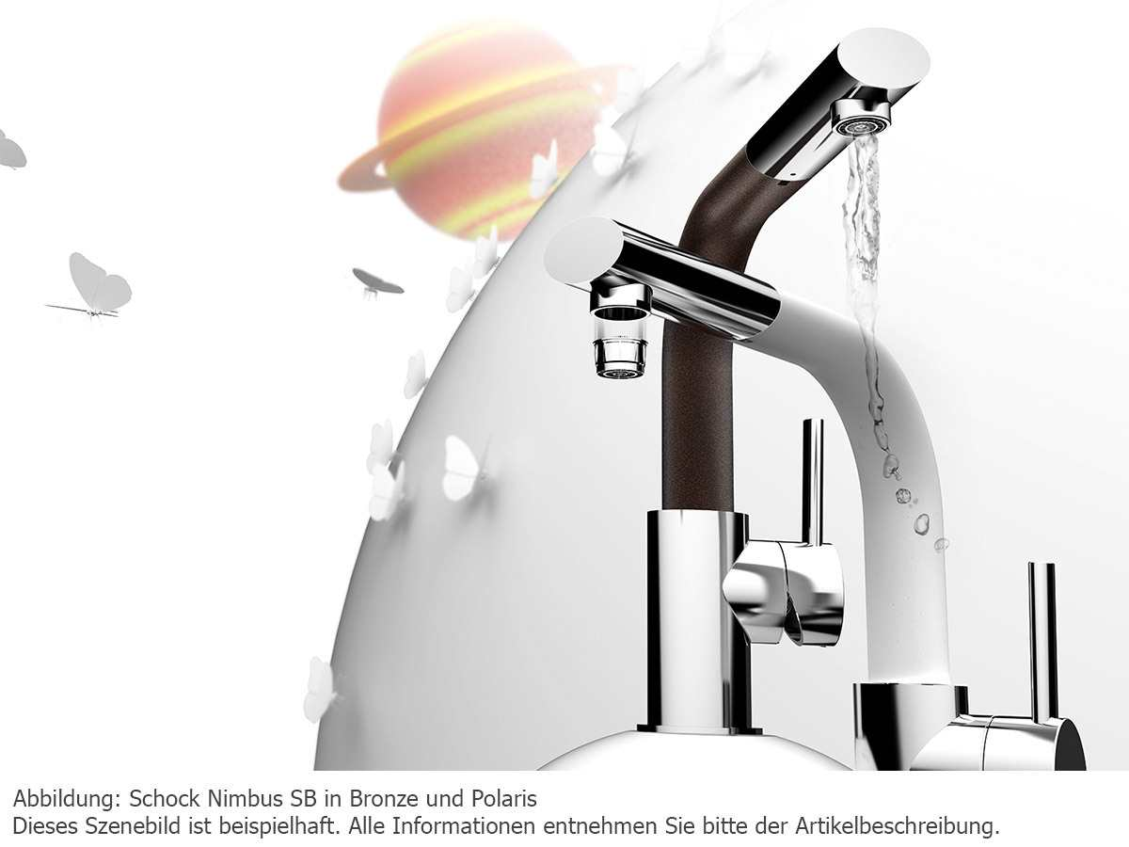 Schock Nimbus SB Carbonium Hochdruckarmatur