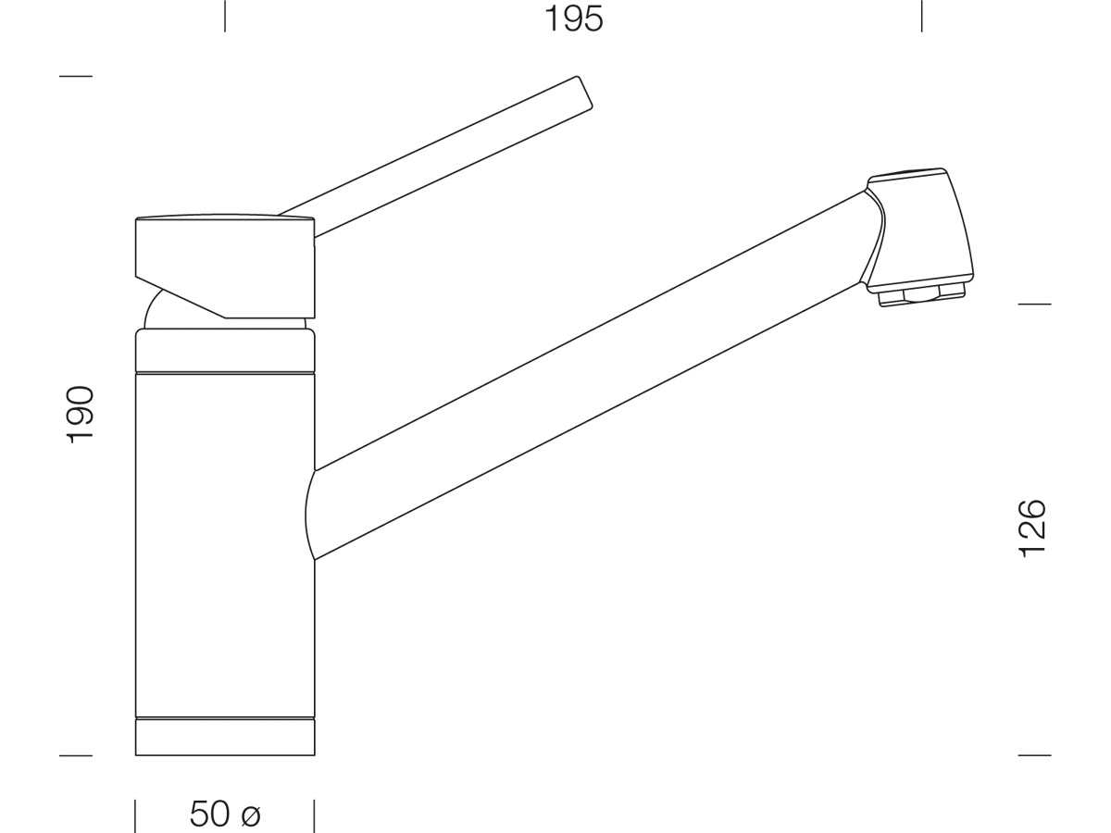 Schock Pila Bronze Hochdruckarmatur