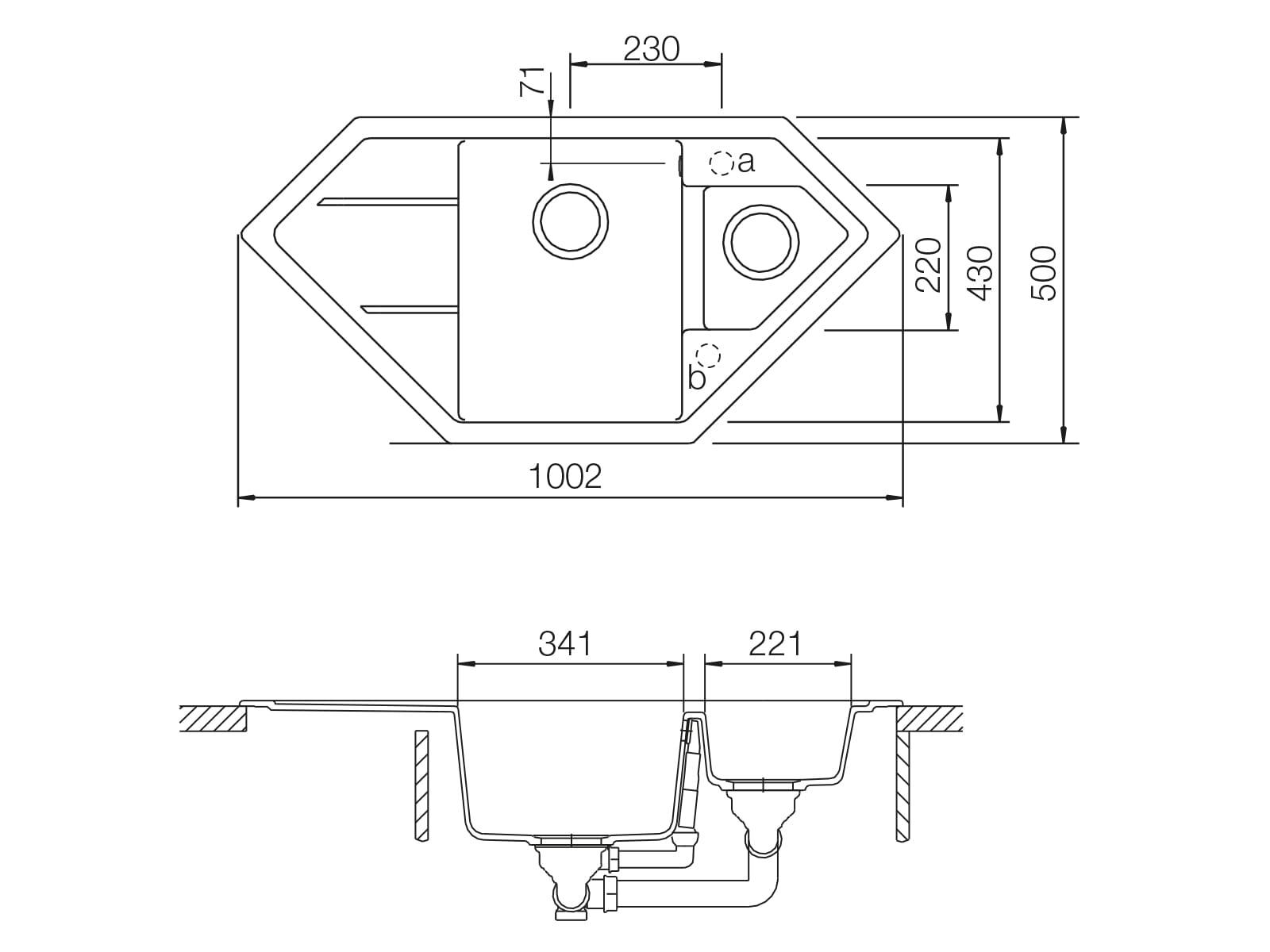 Schock Primus C-150 A Inca - PRIC150AINC Granitspüle