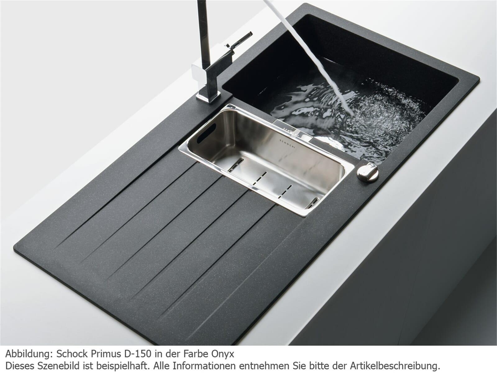 Schock Primus D-150 A Nero - PRID150AGCR Granitspüle