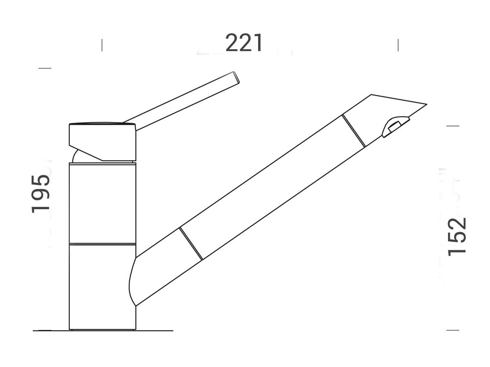 Schock SC-200 Stone - 592001STO Hochdruckarmatur