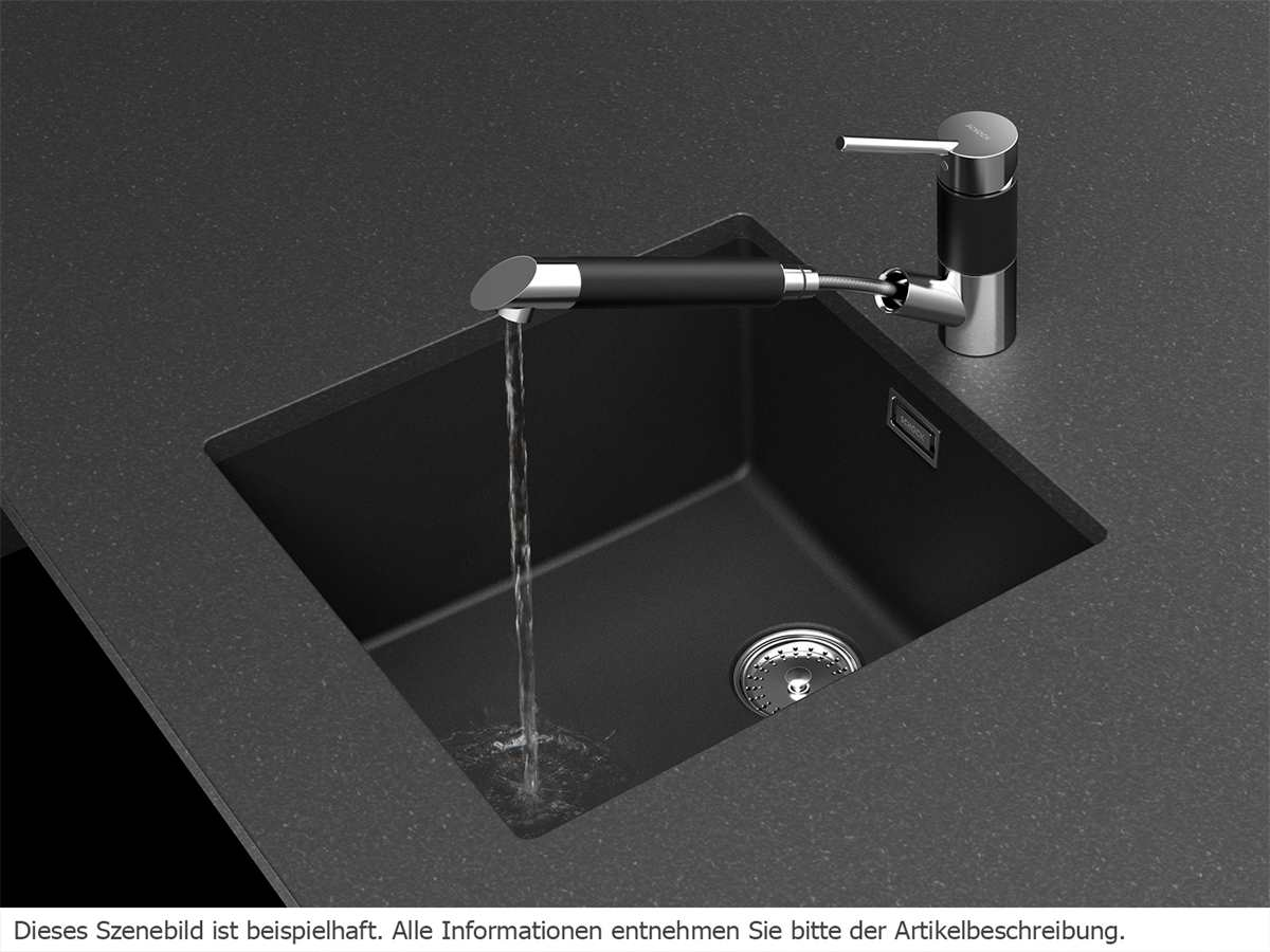 Schock SC-200 Carbonium - 592121CAR Hochdruckarmatur
