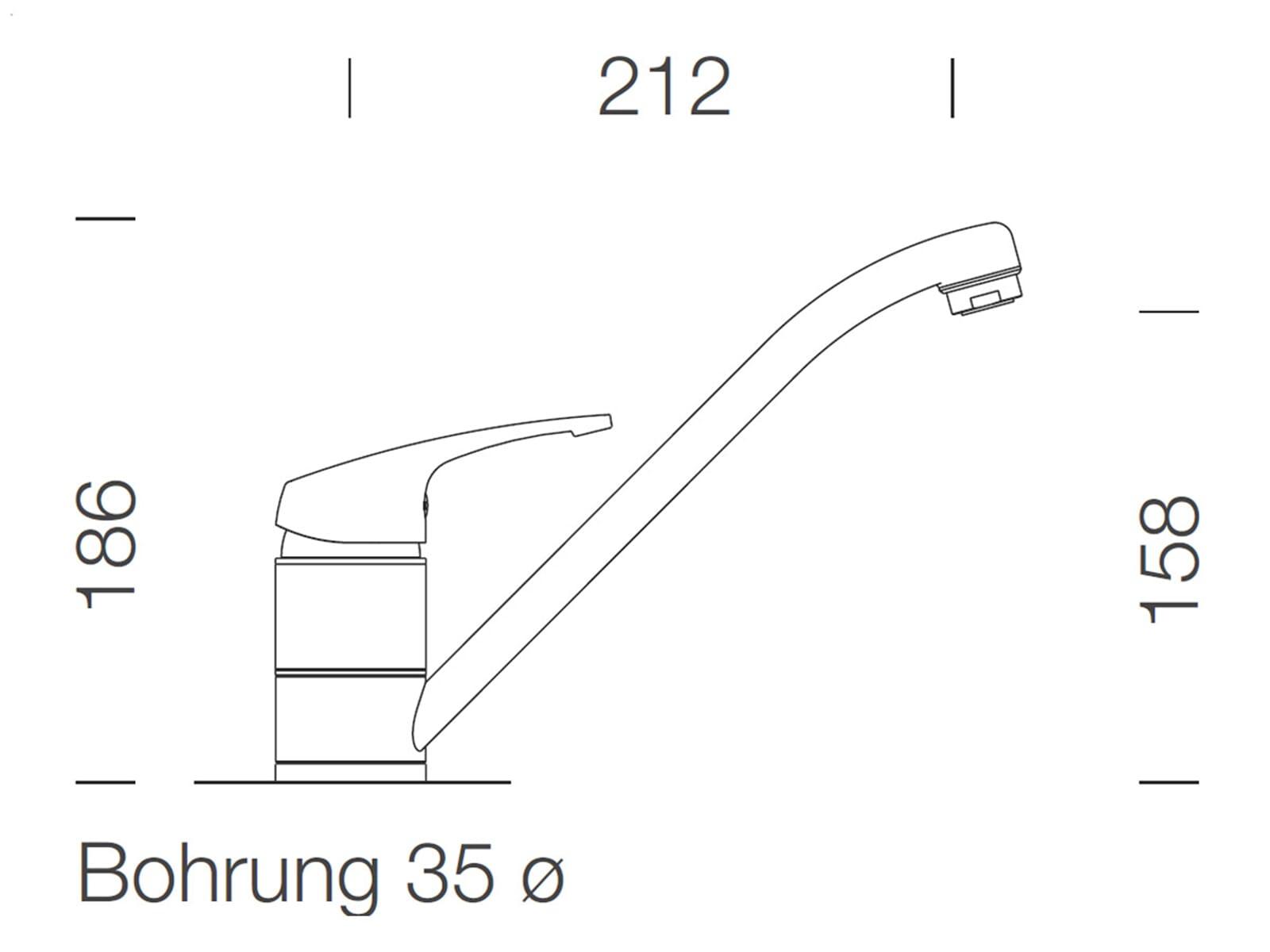 schock tondo r 100 gobi granitsp le sc 40 gobi hochdruck armatur ebay. Black Bedroom Furniture Sets. Home Design Ideas