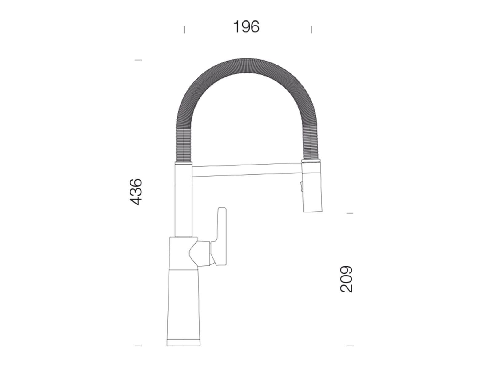 Schock SC-550 Alpaca - 558000ALP Hochdruckarmatur