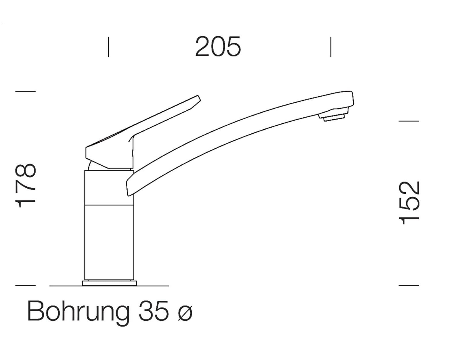 Schock SC-90 Alpaca - 598000ALP Hochdruckarmatur