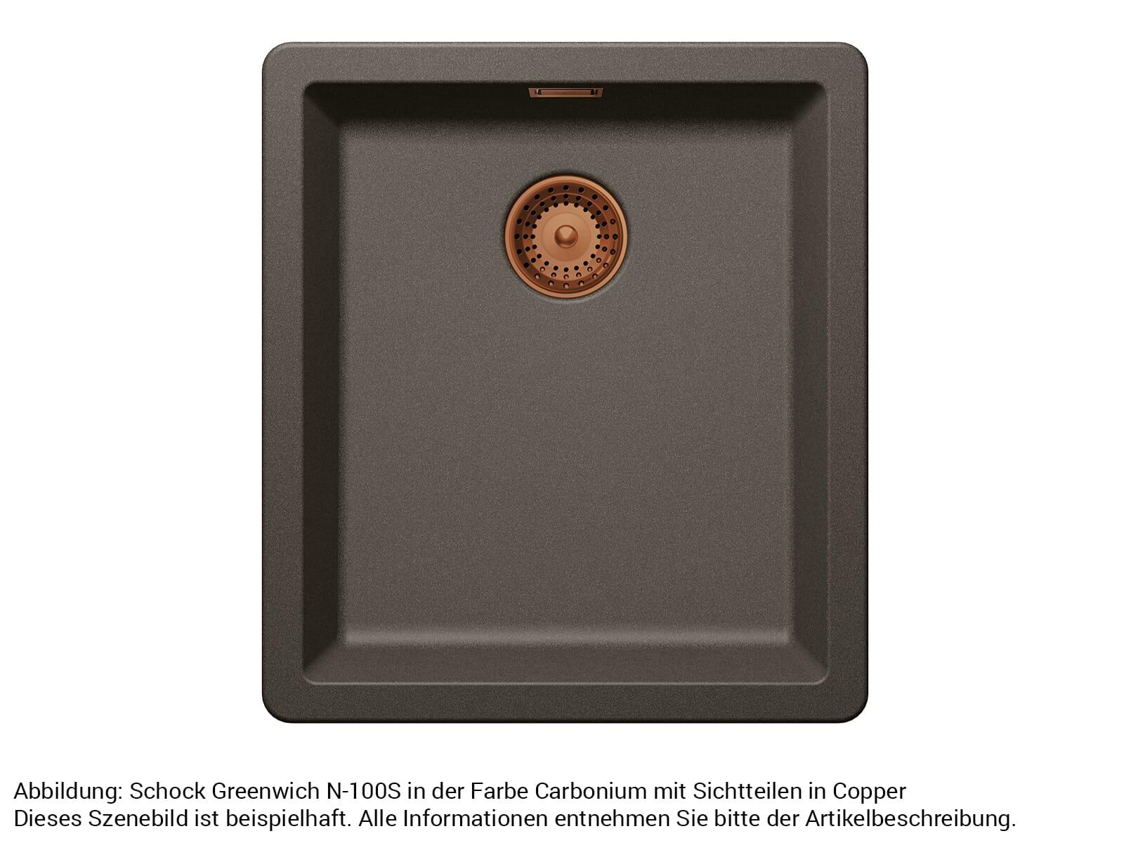 Schock 629392COP - Sichtteile Copper