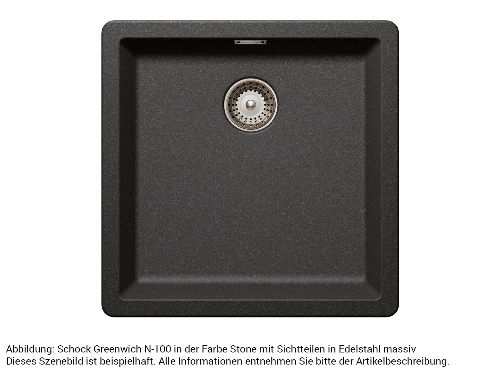 Schock 629392EDM - Sichtteile Edelstahl massiv