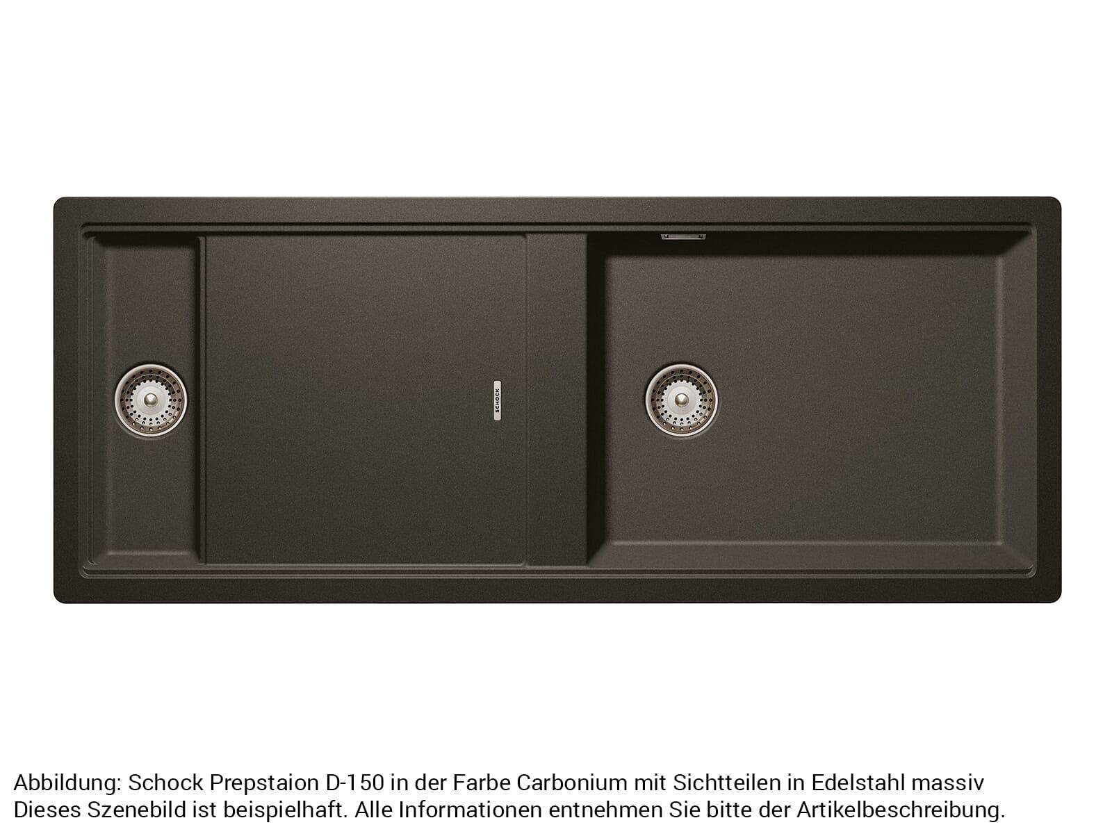 Schock 629620EDM - Sichtteile Edelstahl massiv