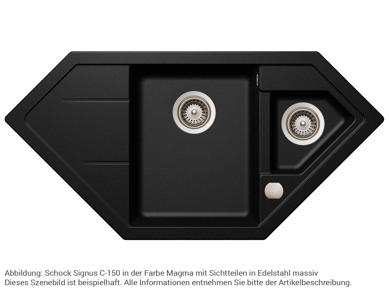 Schock 629305EDM - Sichtteile Edelstahl massiv