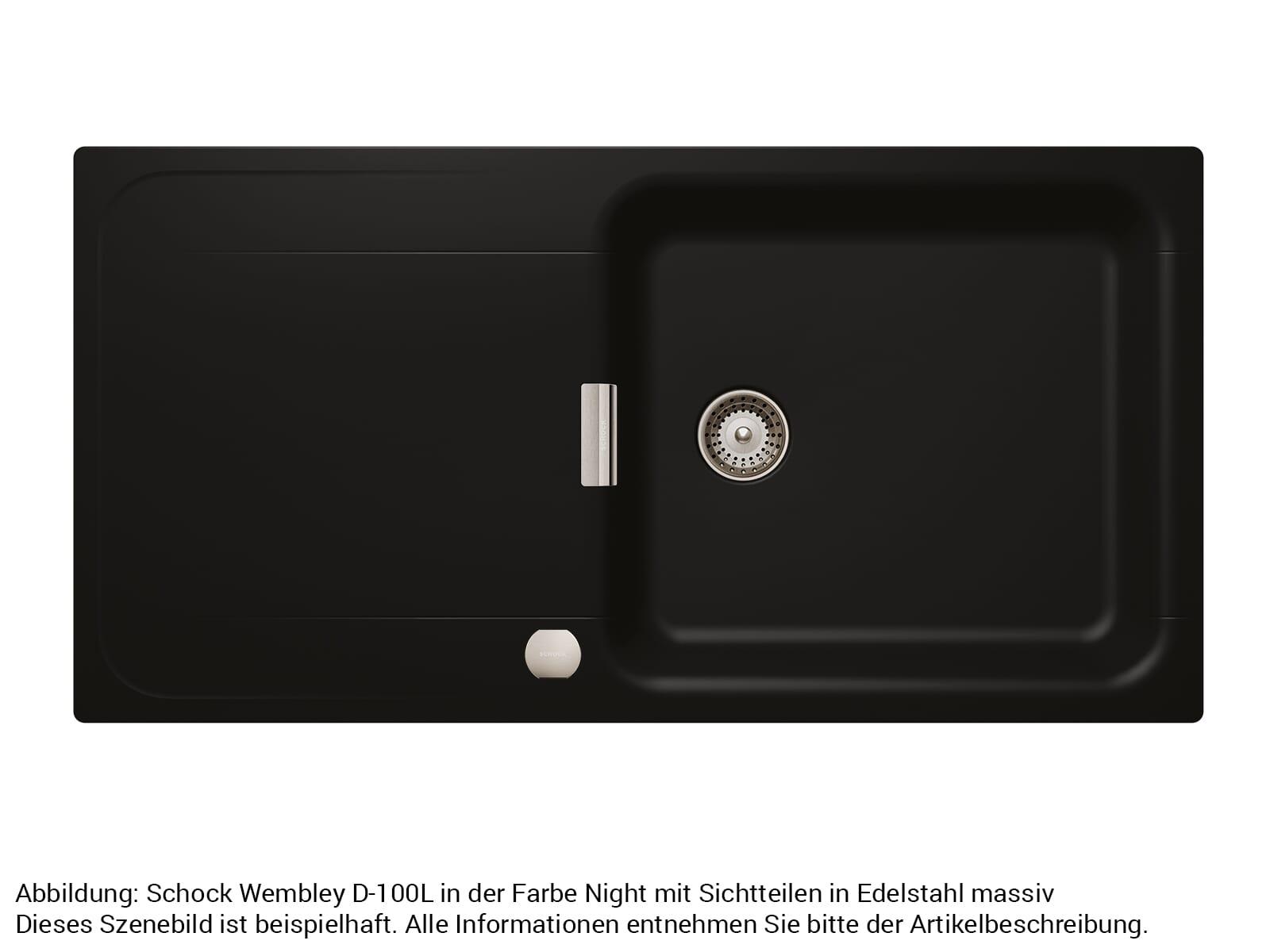 Schock 629614EDM - Sichtteile Edelstahl massiv