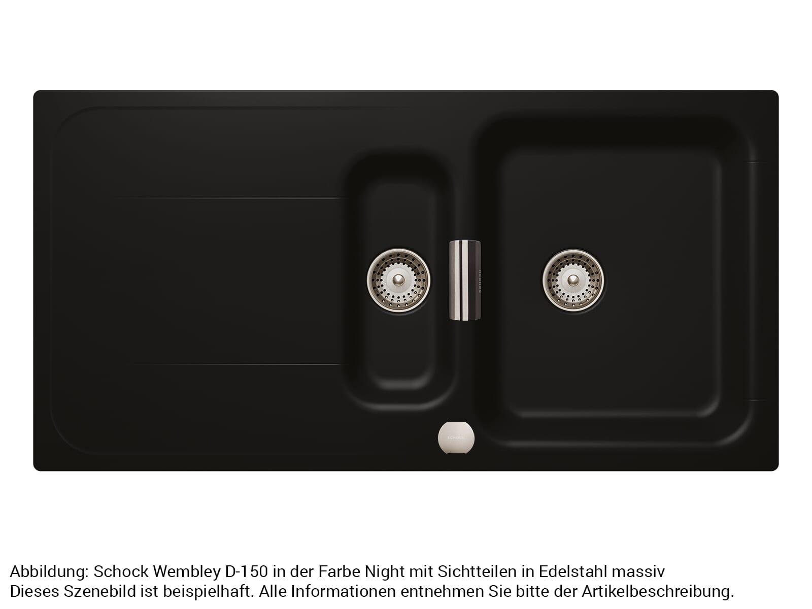 Schock 629618EDM - Sichtteile Edelstahl massiv