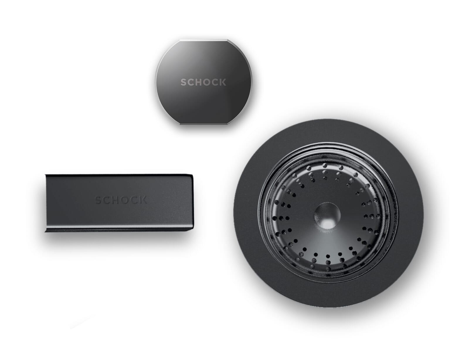 Schock 629614GUM - Sichtteile Gunmetal