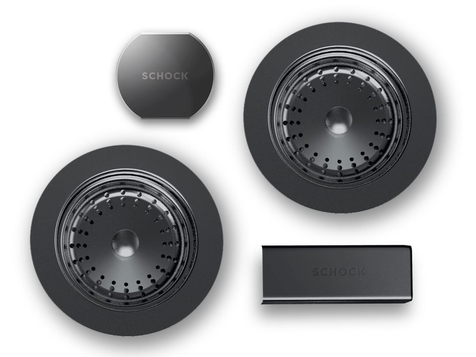 Schock 629618GUM - Sichtteile Gunmetal