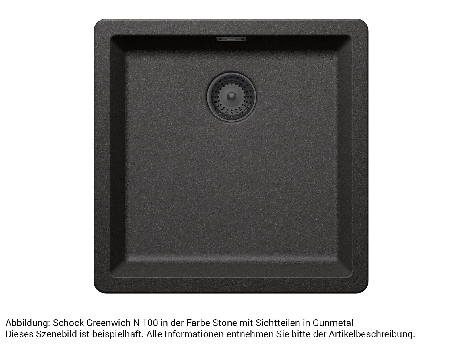 Schock 629392GUM - Sichtteile Gunmetal